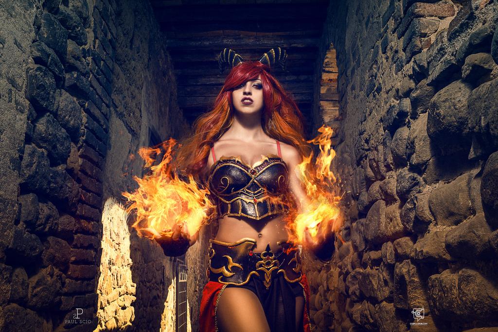 Original draconian cosplay by Crystal Emiliani by LauraCrystalCosplay