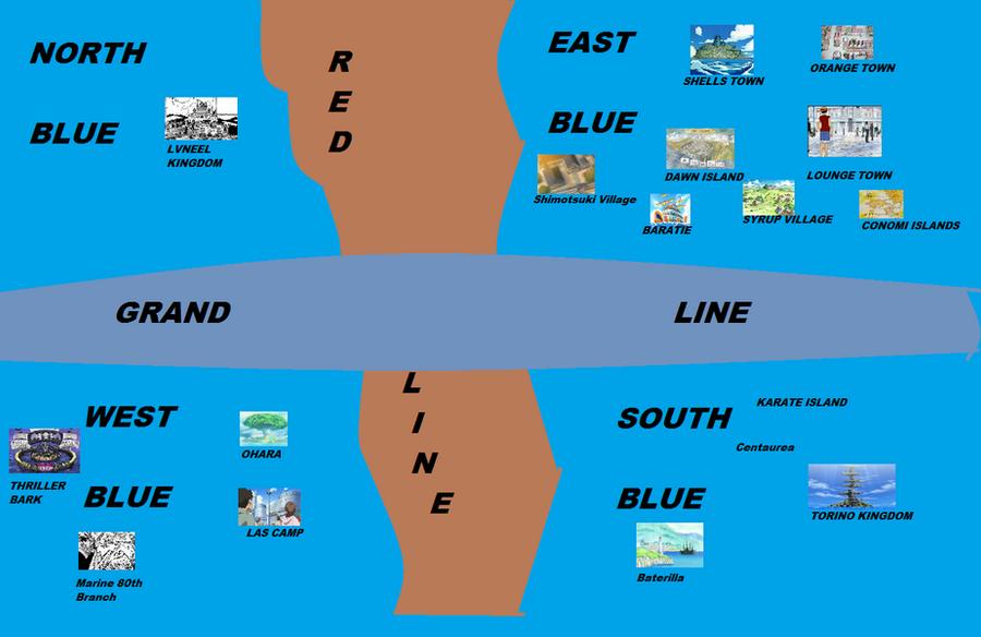 One Piece Map by OnePieceFAN009 on DeviantArt