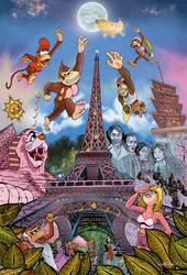 Donkey Kong's Moon Race by Thumper-001