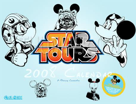 Star Tours 2008 Calendar