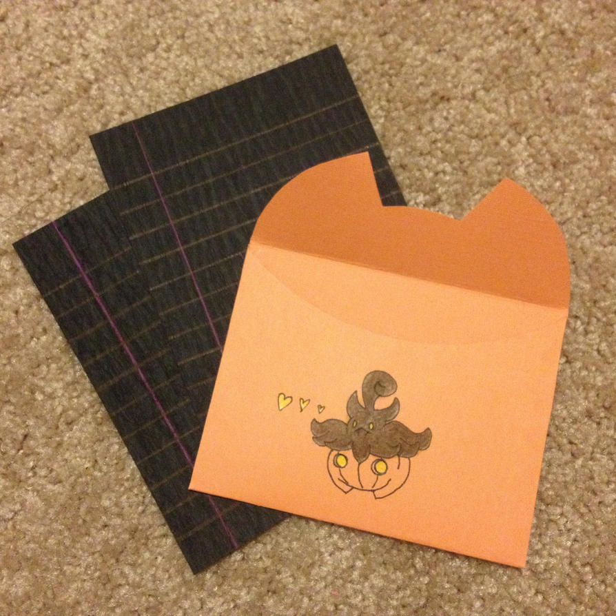 Pumpkaboo Stationery by DOTBstudios