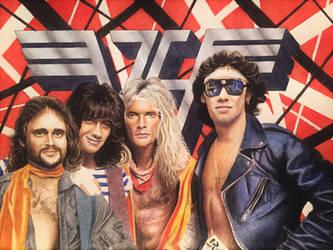 The Mighty Van Halen by JTRIII