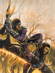 Ape Has Killed Ape! by JTRIII