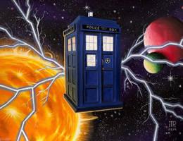 TARDIS flight by JTRIII