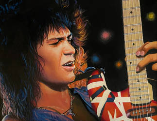 Eddie Van Halen by JTRIII