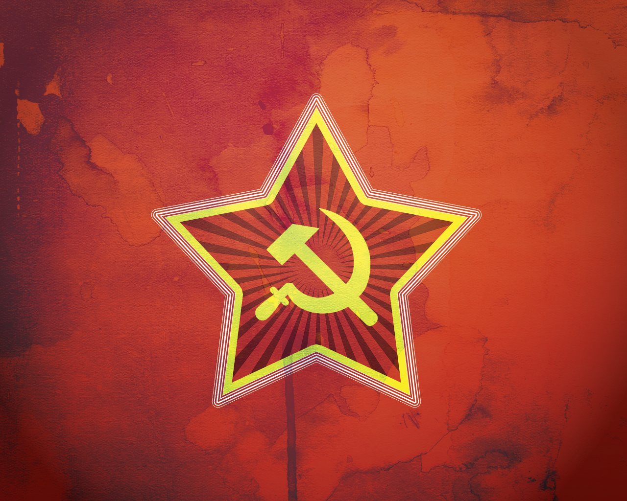Soviet Star Wallpaper by spectravideo
