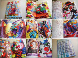 my artbook The Circus of Illustration