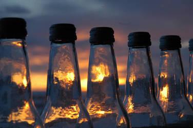 Bottled Sundust. by shallowpelt