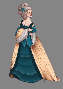 Character design-Baroque