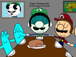 Happy Thanksgiving from Luigi And Friends