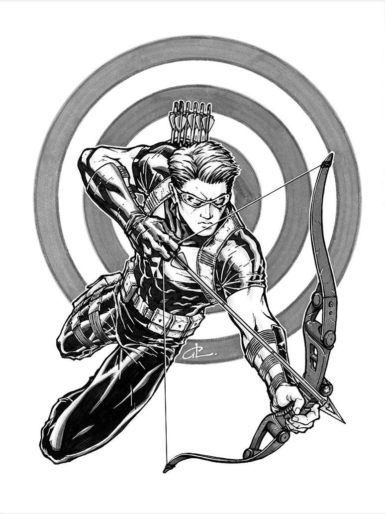 Hawkeye by studiomeridian