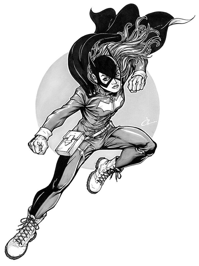 Batgirl by studiomeridian
