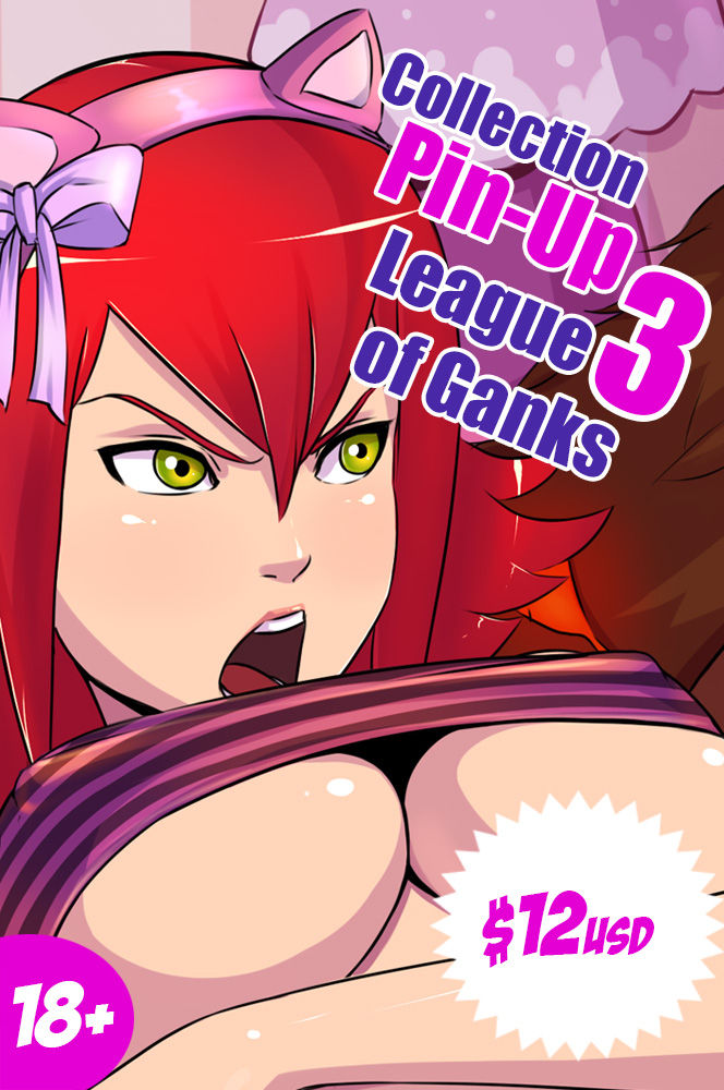 League of Ganks 3 Available by Kyoffie12