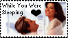 While You Were Sleeping Stamp by irishgirl982