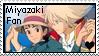 Miyazaki Fan Stamp by irishgirl982