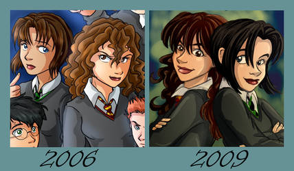 Improvement - Pansy+Hermione