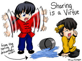 Ranma - Sharing is a Virtue