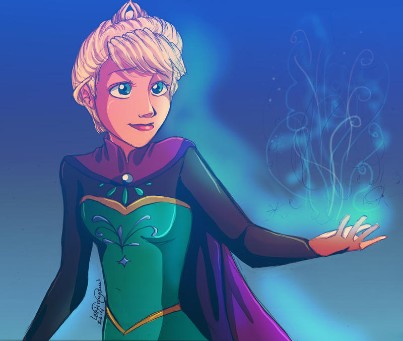 Frozen - Let It Go by irishgirl982