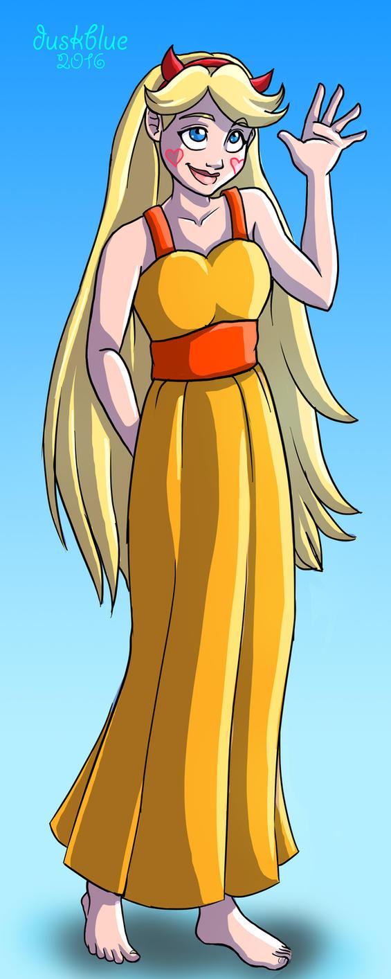 SVTFOE - Yellow Dress by irishgirl982