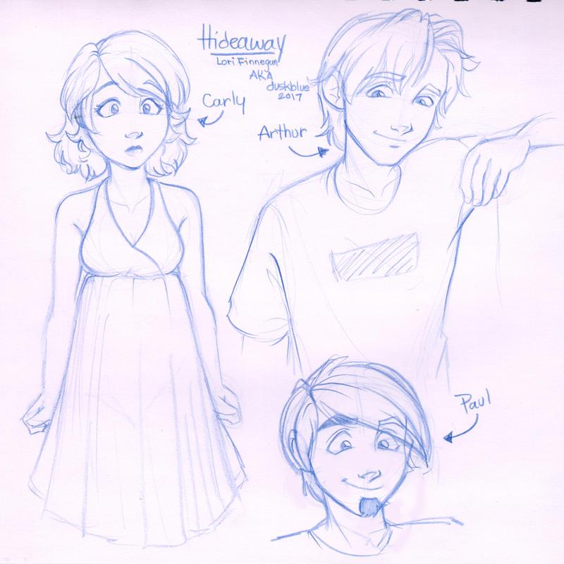 Sketchbook - Hideaway Characters by irishgirl982