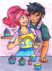 Trolls - Cupcakes and Rainbows by irishgirl982