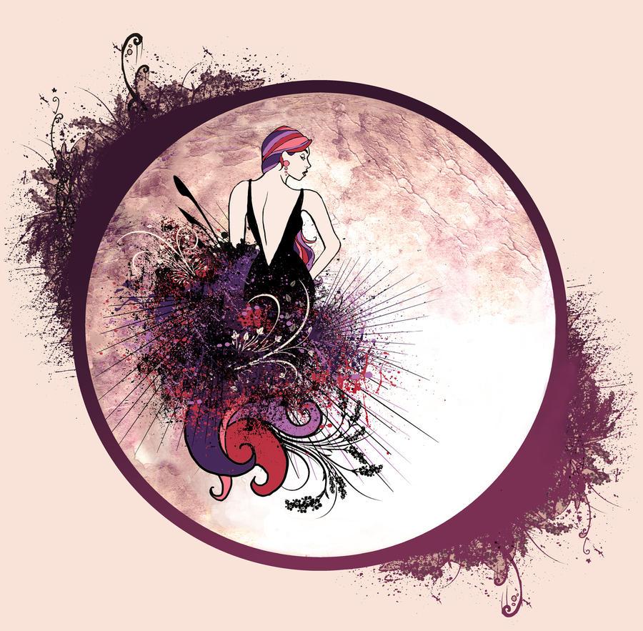 MOON NIGHT - Página 4 The_Woman_on_the_Moon_by_QueenOfDespair