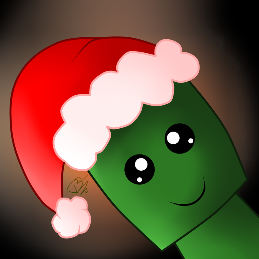 free christmas creeper icon/avatar by Victoriathekitty on DeviantArt