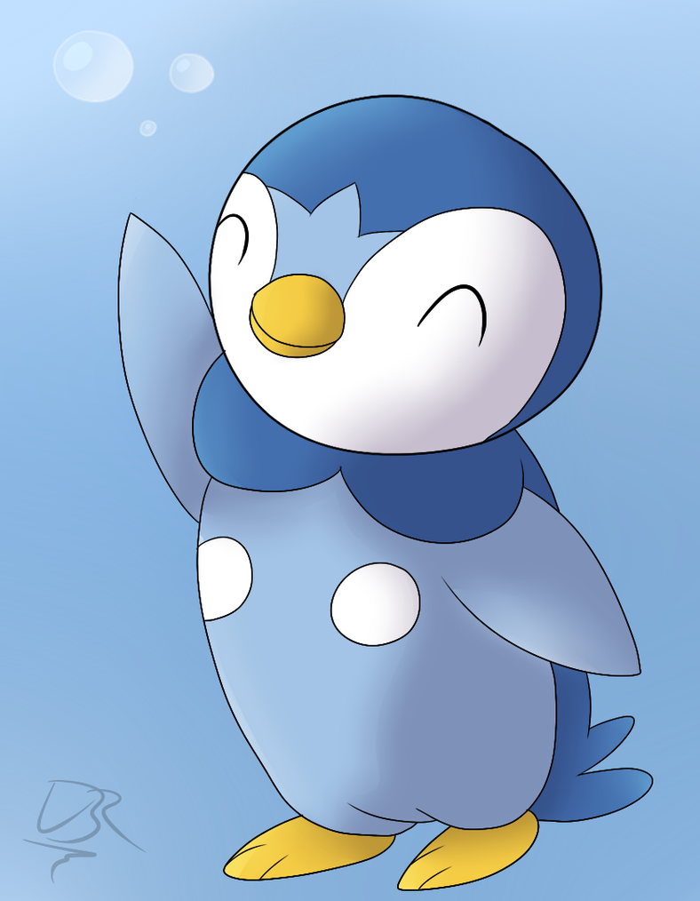 download pokemon starters piplup - photo #33