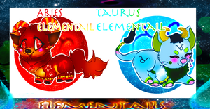 Elementail Zodiac batch #3 CLOSED by LittleHomeofMacarons