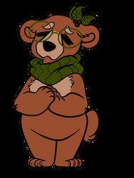 GrandMother Bear (Fursona) by Peppoco