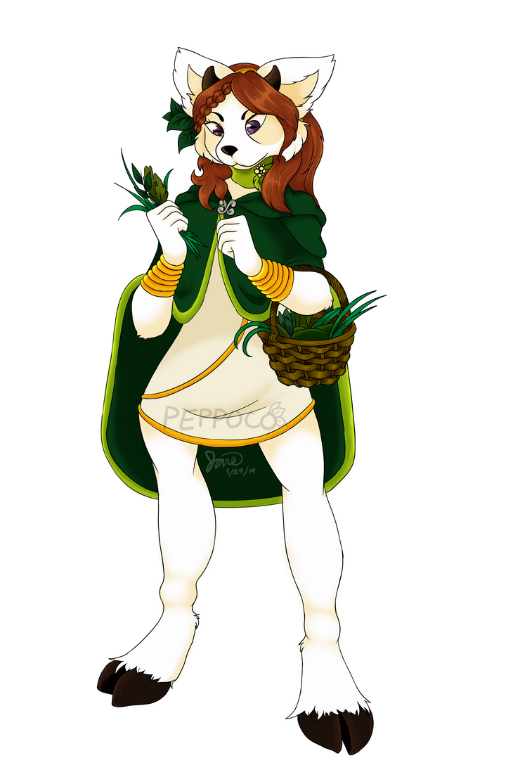 Song of the Ascents - Fullbody Commission by Peppoco