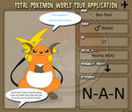 Ben's TPWT Application