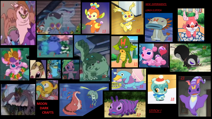 New exp 2 by moondark crafts on deviantart for Lilo and stitch arts and crafts
