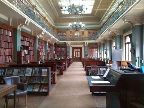 Victora and Albert Museum library