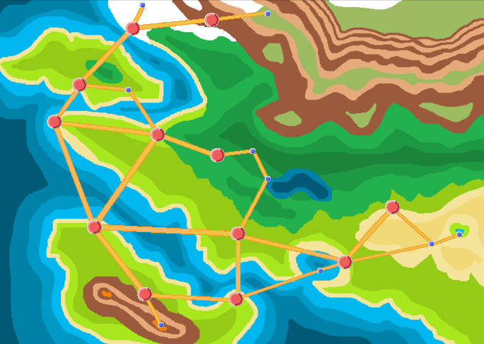 Fakemon 39 s atlion region map finished or is it by for Design couchtisch hn 777