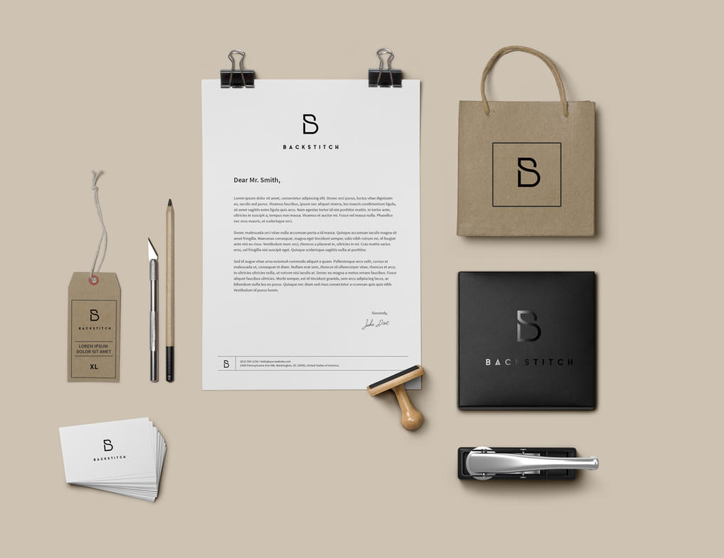 Backstitch: Branding Identity by delonixbranding