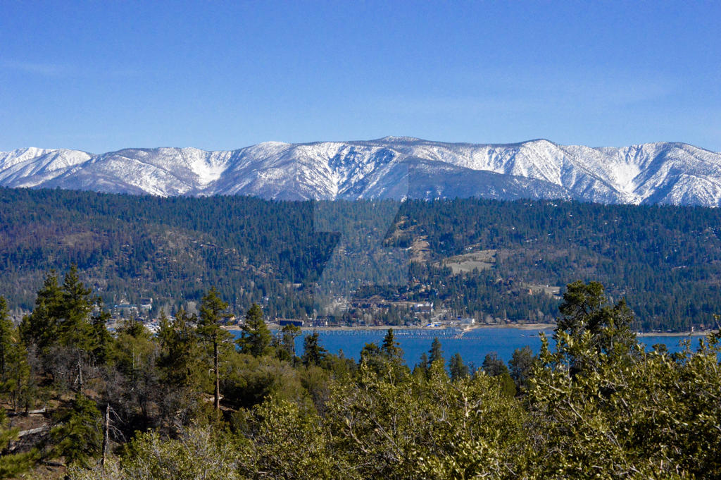 Big Bear Lake by CTilsonPhotography