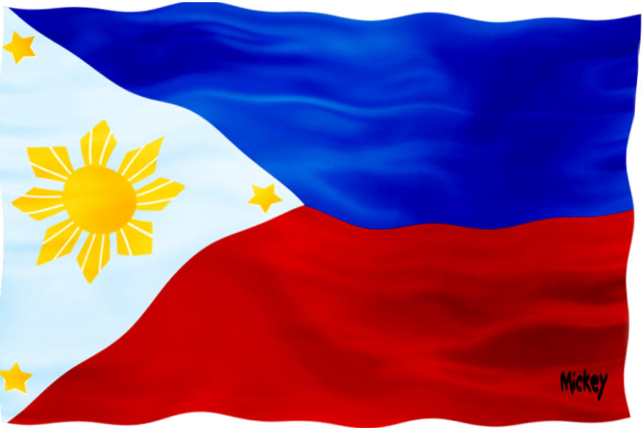 philippine flag Flag of the phillipines free hi res download of vector graphics and web ready images royalty free for use on web sites, as desktop wallpaper, school projects.
