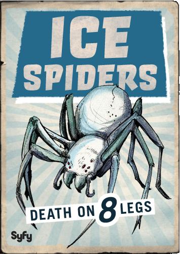 Syfy MM Ice Spiders by Randoman92 on DeviantArt