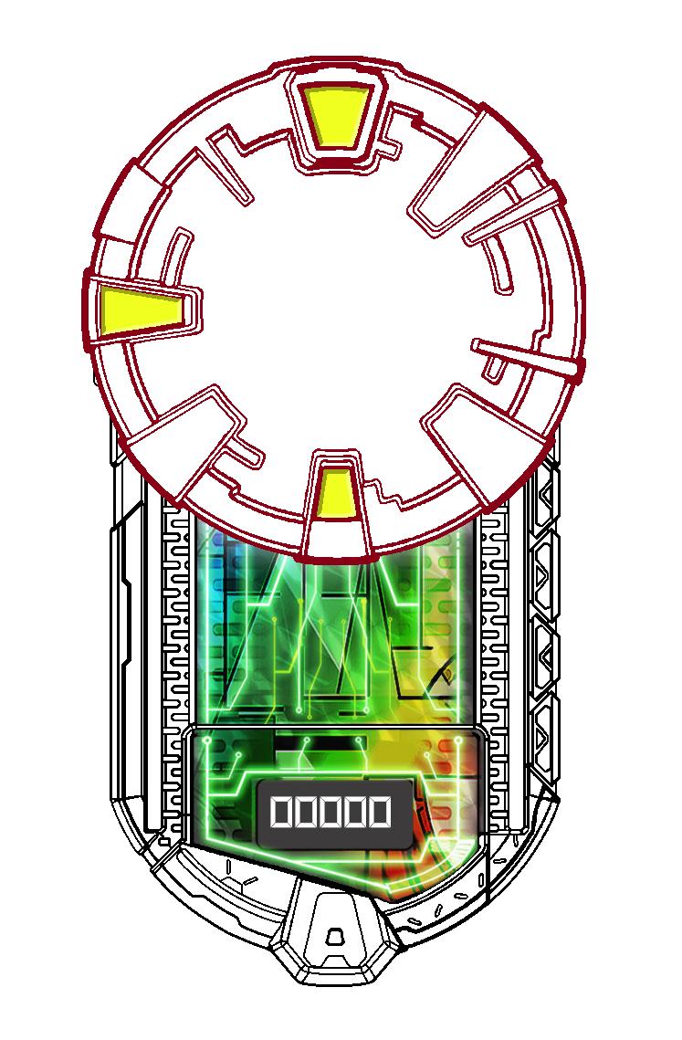 Digimon: AppliDrive Base by Randoman92