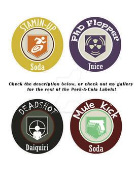 Perk-A-Cola Labels 2