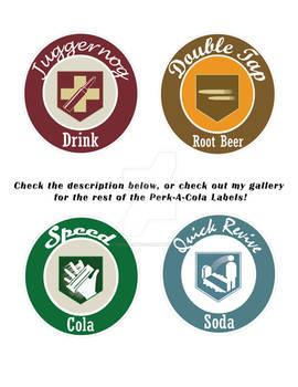 Perk-A-Cola Labels