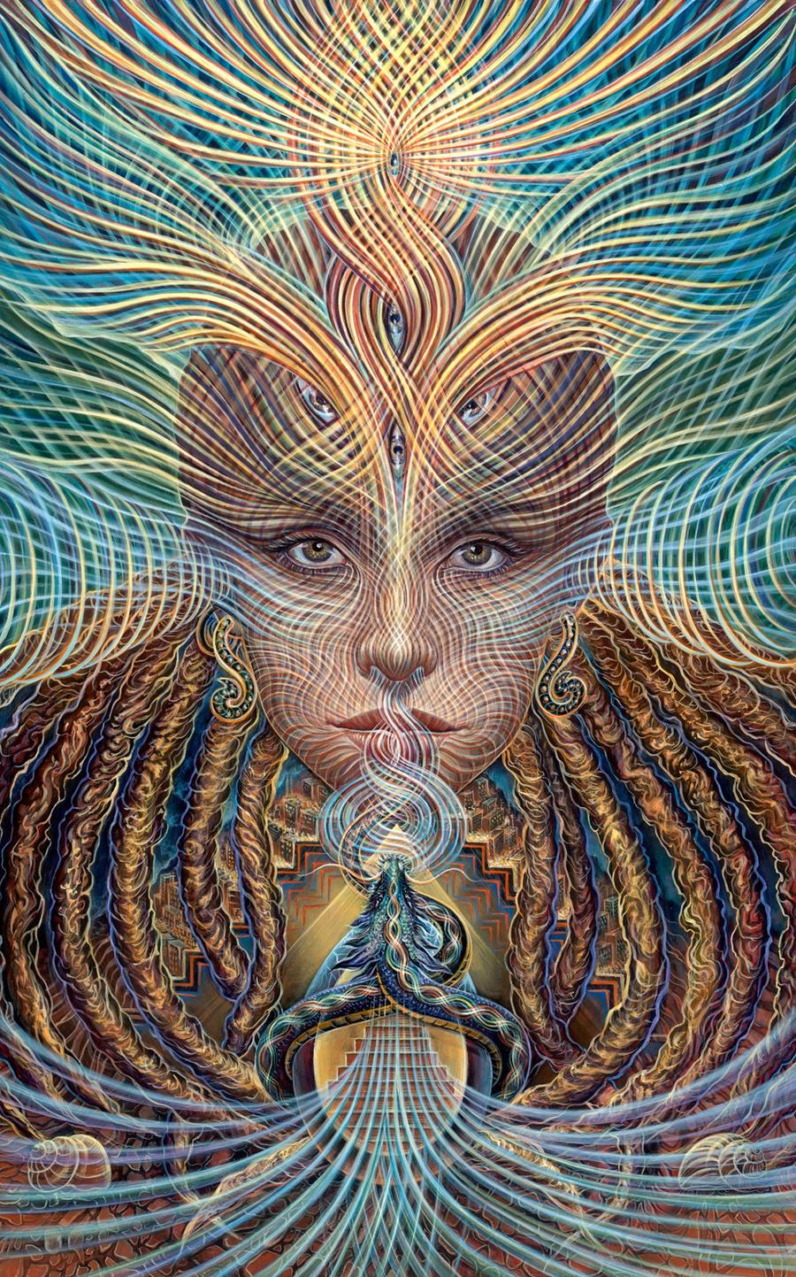 Orphic Awakening by asage