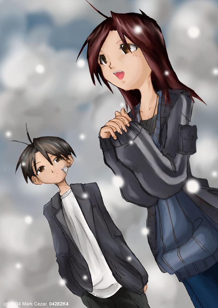 Snowfall Romance by blitzworx