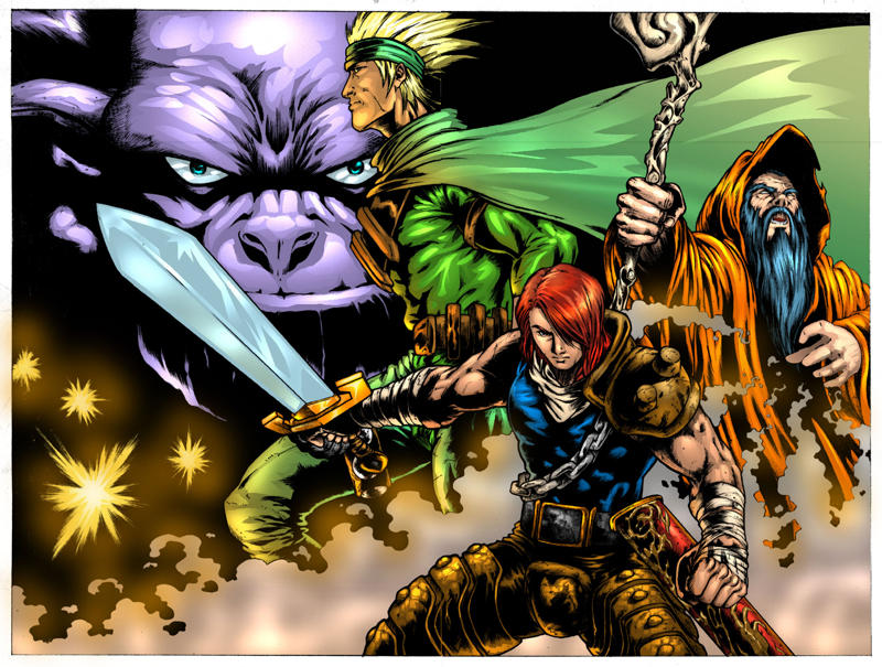The Dragon's Bane high by blitzworx