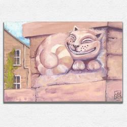 Cheshire Wall Cat