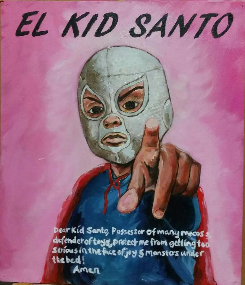 El Kid Santo by hdpz