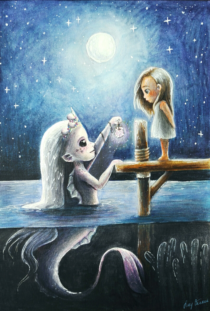 Little mermaid by DoodleLucyArt