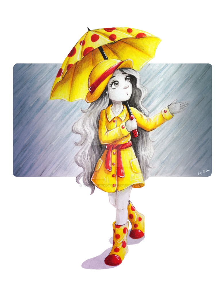 It's rainy day by DoodleLucyArt