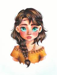 Little squaw portrait